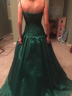 Jovani Green Size 6 Ball gown on Queenly