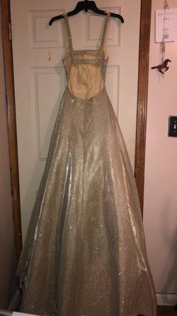 Sherri Hill Gold Size 0 Pageant Ball gown on Queenly