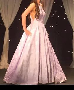 Sherri Hill Purple Size 6 Lavender Tall Height Ball gown on Queenly