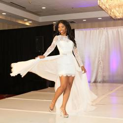 Sherri Hill White Size 4 Long Sleeve Straight Dress on Queenly