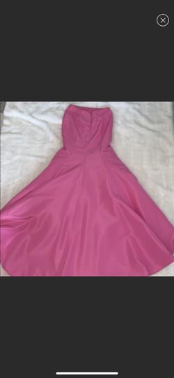 Sherri Hill Pink Size 8 Tall Height Mermaid Dress on Queenly