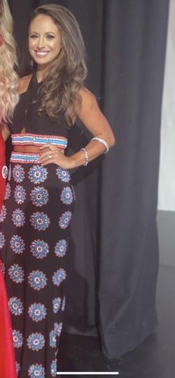 Rachel Allan Black Size 2 Custom Straight Dress on Queenly