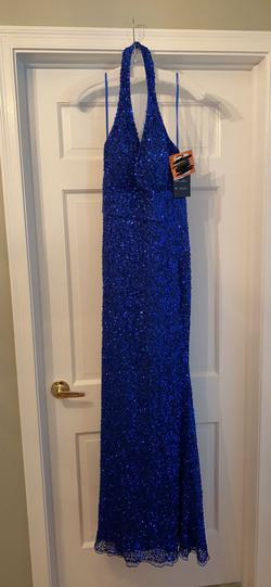Blue Size 10 A-line Dress on Queenly