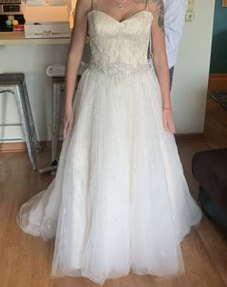Nude Size 8 Ball gown on Queenly