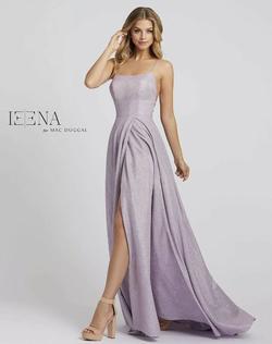 Mac Duggal Purple Size 8 Wedding Guest Side slit Dress on Queenly