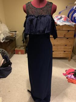 Tina Turk Blue Size 6 Medium Height Navy Straight Dress on Queenly