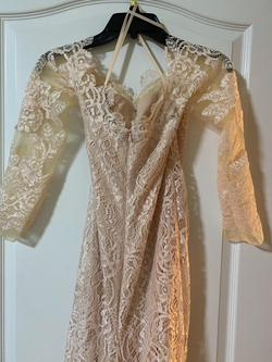 Nude Size 8 Train Dress on Queenly