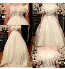 Sherri Hill White Size 8 Ball gown on Queenly