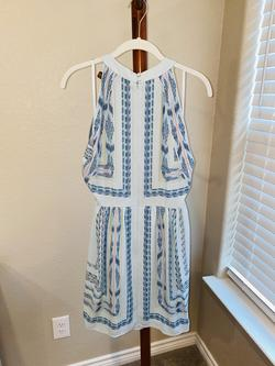 BCBG Blue Size 8 Wedding Guest Cocktail Dress on Queenly