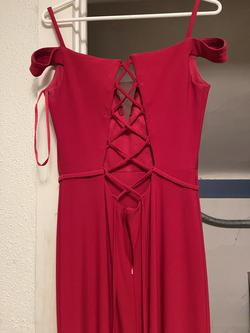 Clarisse Red Size 10 Straight Dress on Queenly