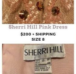 Sherri Hill Pink Size 8 Short Height Cocktail Dress on Queenly