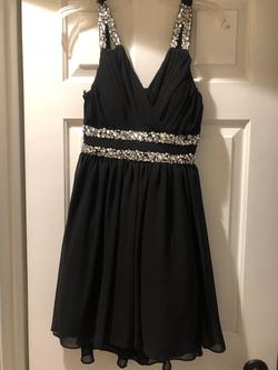 City Studio Black Size 6 A-line Dress on Queenly