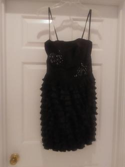 Leo Soirees Black Size 6 Pageant Cocktail Dress on Queenly