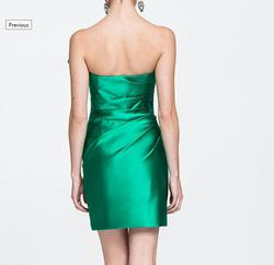 Ashley Lauren Green Size 6 Cocktail Dress on Queenly