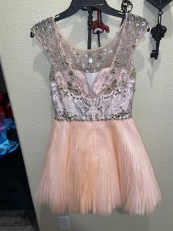 Sherri Hill Pink Size 6 Mini Cocktail Dress on Queenly