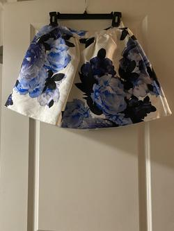 Xtraordinary Blue Size 0 Floral Navy A-line Dress on Queenly