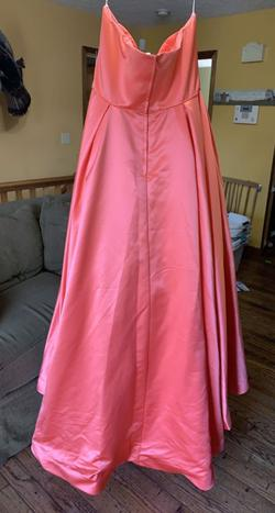 Sherri Hill Multicolor Size 20 Plus Size Train Dress on Queenly