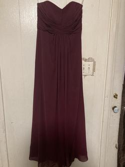 David's Bridal Red Size 6 Straight Dress on Queenly