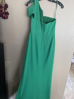 BCBG Green Size 6 Straight Dress on Queenly
