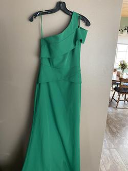 BCBG Green Size 6 Tall Height Straight Dress on Queenly