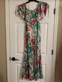 Wow Wear Multicolor Size 2 Jumpsuit Dress on Queenly