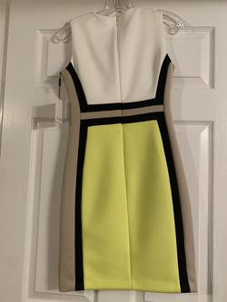 Calvin Klein Multicolor Size 4 Interview Cocktail Dress on Queenly