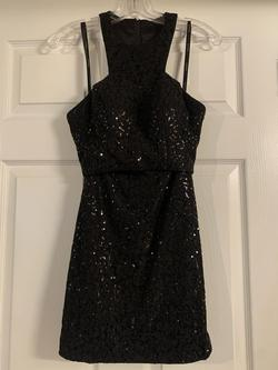 Hannah S Black Size 2 Two Piece Cocktail Dress on Queenly