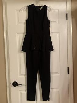 Eliza J Black Size 2 Jumpsuit Dress on Queenly