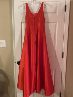 B. Darlin Red Size 4 Short Height Mermaid Dress on Queenly