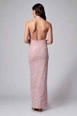 Jay godfrey Pink Size 0 Jewelled Straight Dress on Queenly