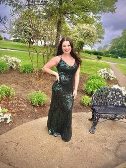 Windsor Multicolor Size 6 Prom Mermaid Dress on Queenly
