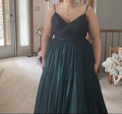 Green Size 16 Ball gown on Queenly