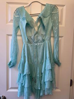 Blue Size 0 Cocktail Dress on Queenly
