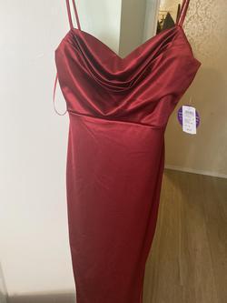 Windsor Red Size 8 Side slit Dress on Queenly