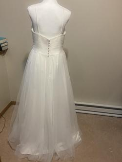 White Size 16 A-line Dress on Queenly