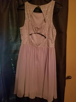 JC Penney Pink Size 10 Homecoming Mini Cocktail Dress on Queenly