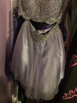 Purple Size 4 A-line Dress on Queenly