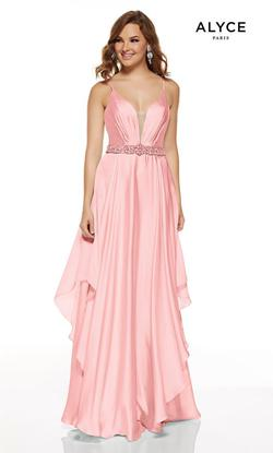 Style 60641 Alyce Paris Pink Size 16 Tall Height Straight Dress on Queenly
