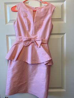 Fernando Wong Pink Size 0 Interview A-line Dress on Queenly