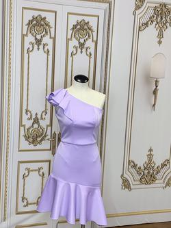 LarissaCoutureLV Purple Size 4 Straight Dress on Queenly