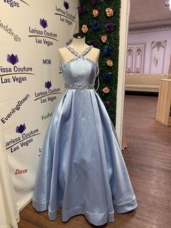 Mac Duggal Blue Size 0 Mac Dugal Ball gown on Queenly