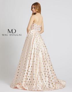 Style 67093L Mac Duggal Pink Size 0 Tall Height Ball gown on Queenly