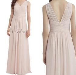 Bill Levkoff Pink Size 8 Prom Tulle A-line Dress on Queenly
