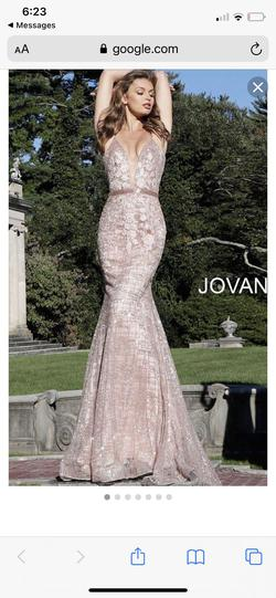 Jovani Pink Size 0 Pageant A-line Dress on Queenly