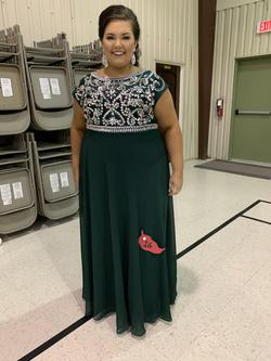 Green Size 22 Straight Dress on Queenly