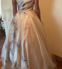Mac Duggal Gold Size 6 Ball gown on Queenly