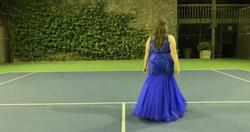 Blue Size 18 Mermaid Dress on Queenly