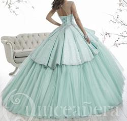 Unknown Blue Size 8 Quinceanera Ball gown on Queenly