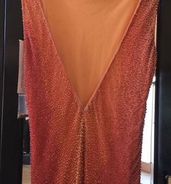 Jovani Orange Size 10 Ombre Flare Cocktail Dress on Queenly