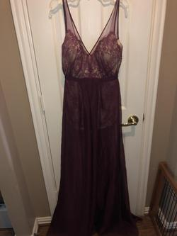 Red Size 2 Jumpsuit Dress on Queenly